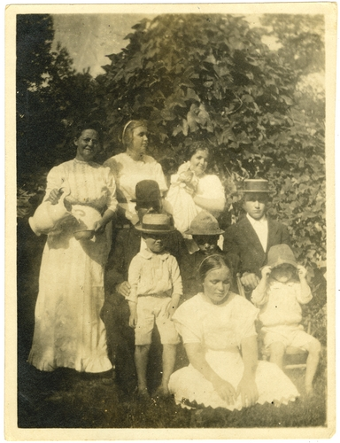 """The Wilkinson family."" Call Number: PI/1994.0001 Number 12 (MDAH Collection)"