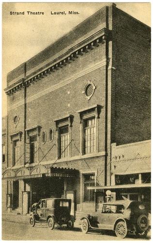 """Strand Theatre, Laurel, MS"" Call Number: PI/2004.0025 (MDAH Collection)"